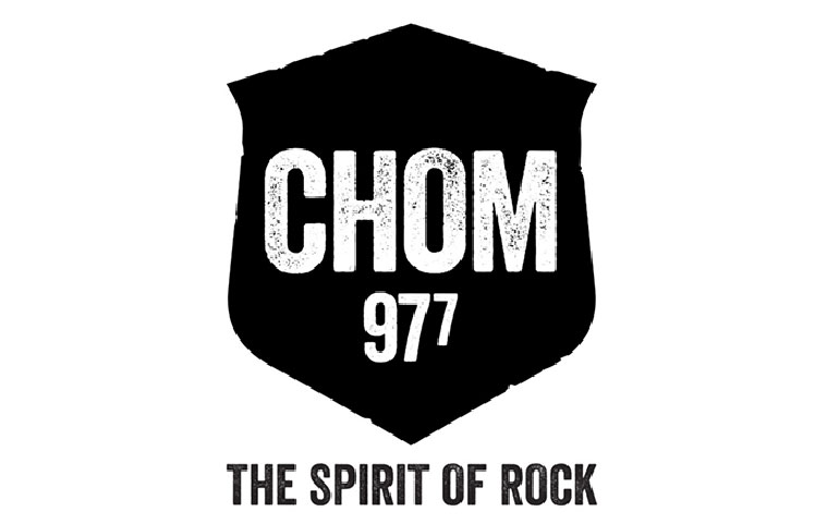 Chom 977 logo - mobile-pocket was a topic in a Montreal radio show